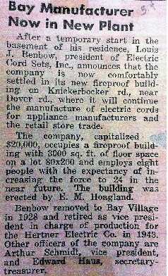 News article 1950s
